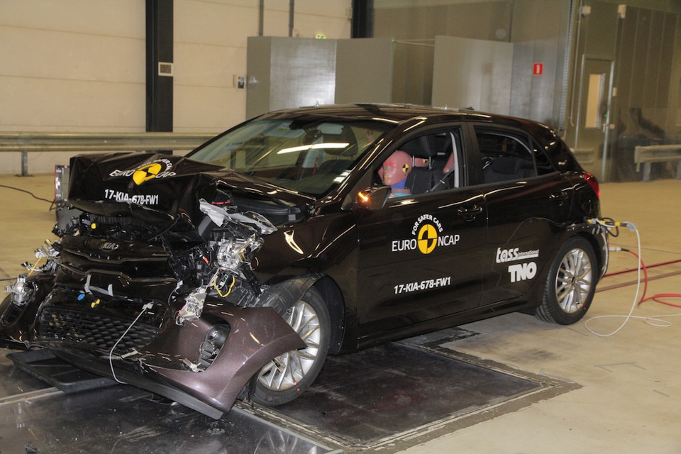 Kia Rio – crash-test