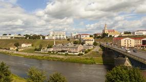 Białoruskie Grodno cieszy się z napływu polskich turystów