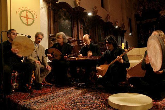 Concert de Hos Neva au monastère de Tyniec près de Cracovie - Photo Onet.