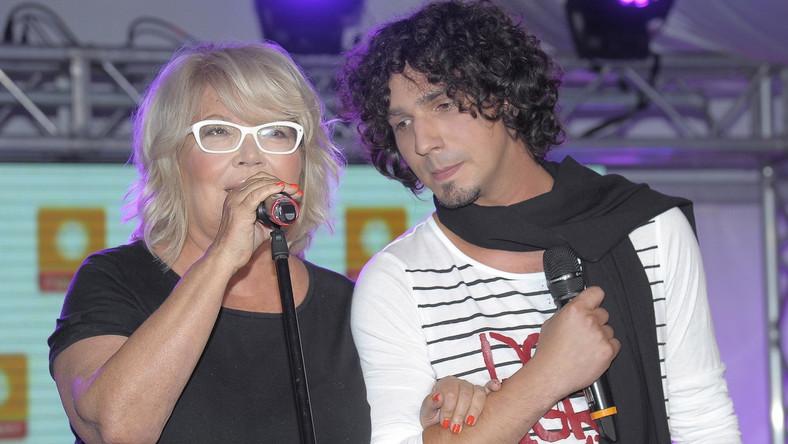 Nina Terentiew i Mariusz Kałamaga