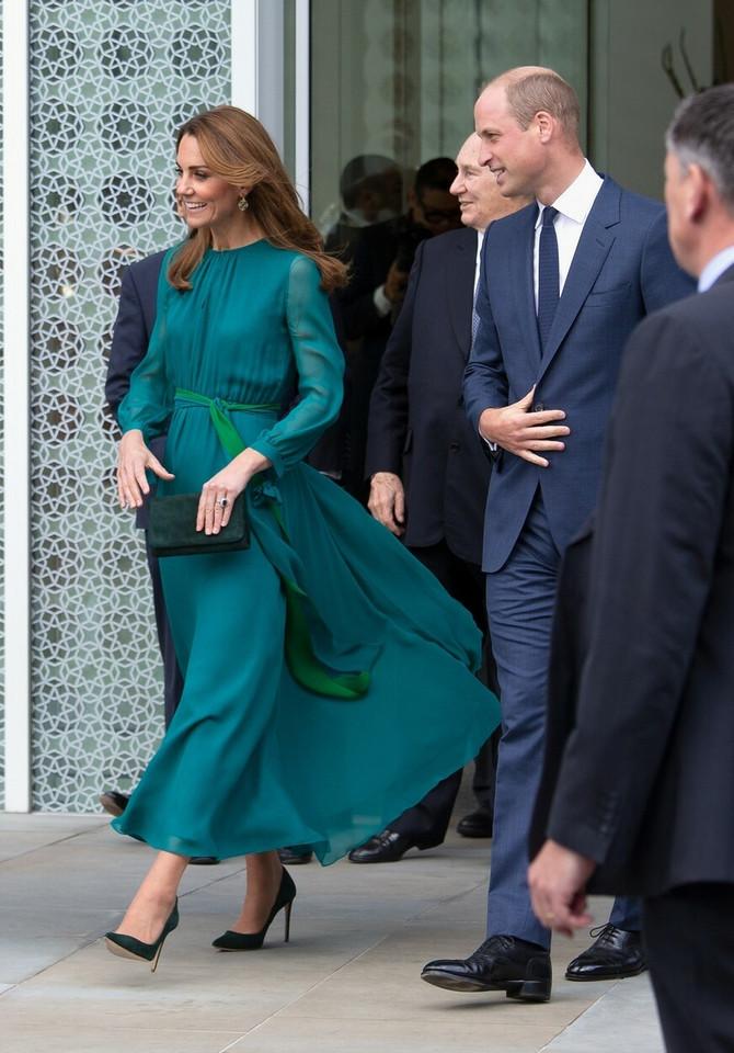Vojvotkinja i vojvoda od Kembridža u Londonu