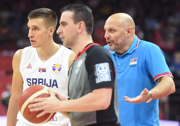 Aleksandar Đorđević i Bogdan Bogdanović