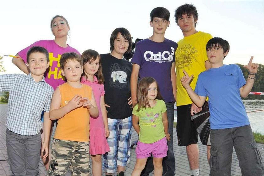 Grupa MoCarta pokazała dzieci. Foto