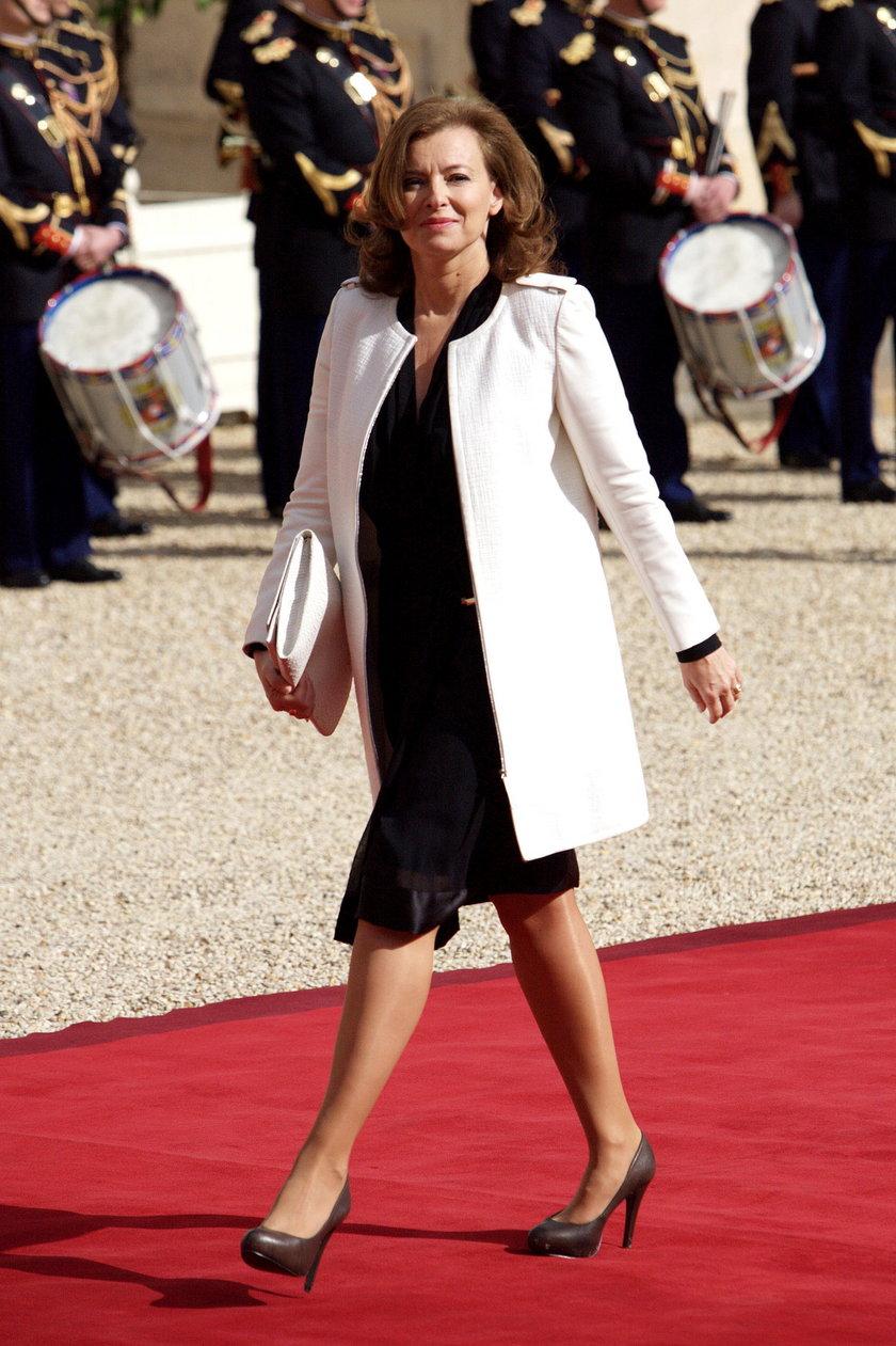Kochanka Hollande zwariowała
