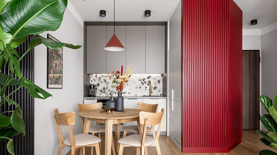 Mieszkanie inspirowane filmami Almodovara