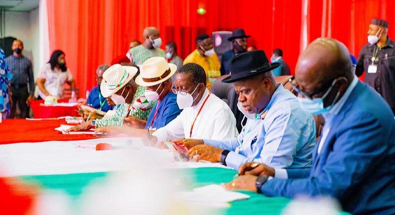 PDP south-south regions elects new executive committee