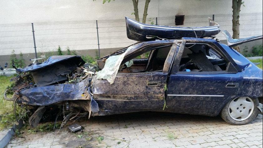 Wypadek w gminie Jasionówka