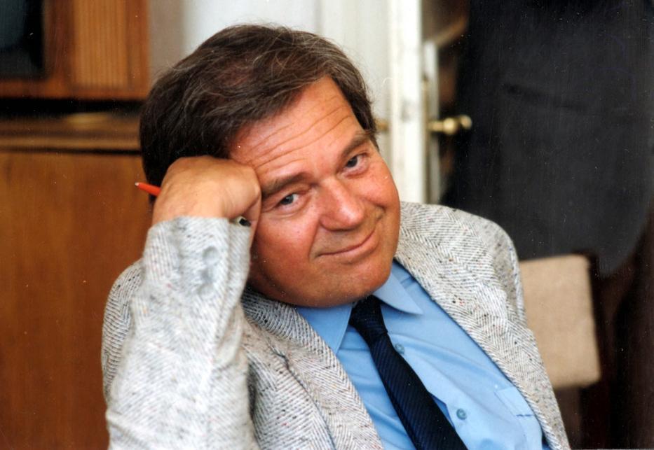 A Parabola műsorát 1972-től a 90-es évek elejéig vezető Árkus József 1992-ben hunyt el. / Fotó: MTI/Hámor Szabolcs