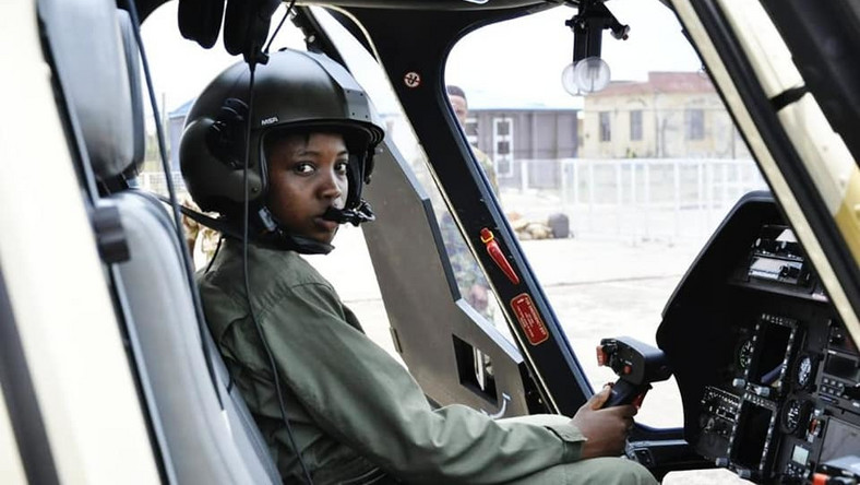 Nigeria's first female combat helicopter pilot, Tolulope Arotile, died in a road accident [NAF]