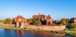 Pożar na zamku w Malborku