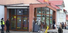 Wysadzili bankomat przed sklepem. Nieoczekiwany finał