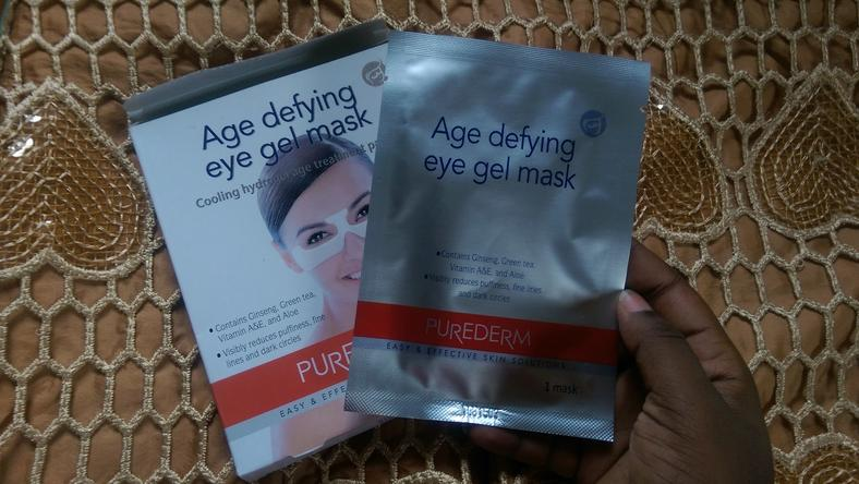 Purederm Age Defying Eye Gel Mask