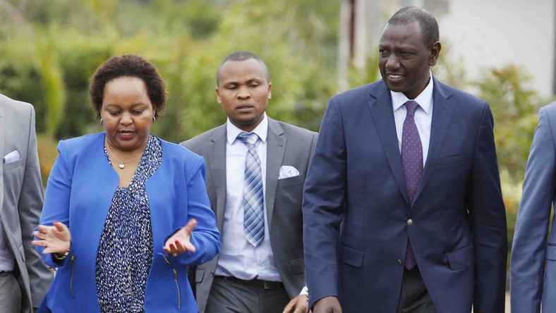 Image result for William Ruto attacks waiguru