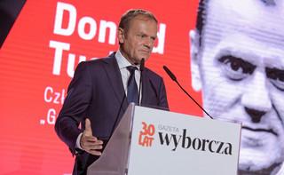 Donald Tusk Człowiekiem Roku GW. 'Nie widzę powodu, by UE i europejskość Polski były przedmiotem politycznej wojny domowej