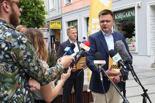 Hołownia chce rozmawiać z Tuskiem o Polsce 'po PiS-ie'