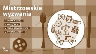 """""""Mistrzowskie wyzwania"""": Rusza konkurs filmowy z Pawłem Łozińskim i Jagodą Szelc"""