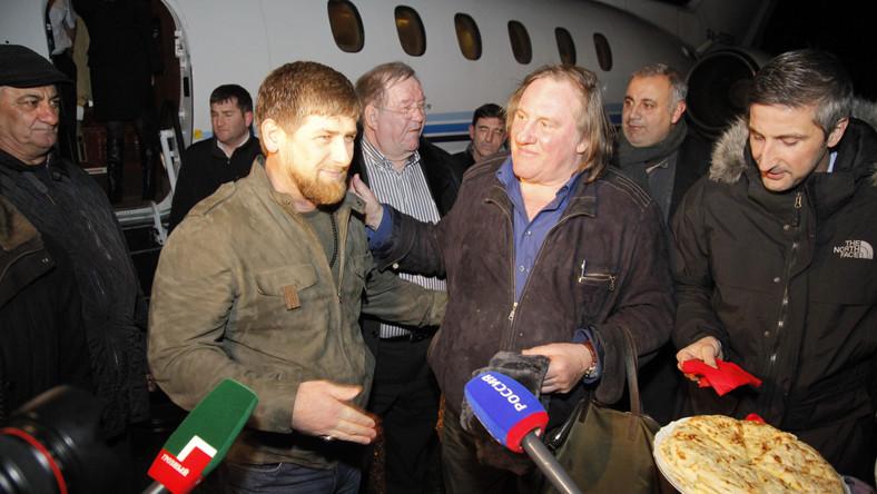 Depardieu tańczył lezginkę w Czeczeni