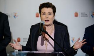 Gronkiewicz-Waltz o planach powiększenia stolicy: Cel wyraźnie polityczny