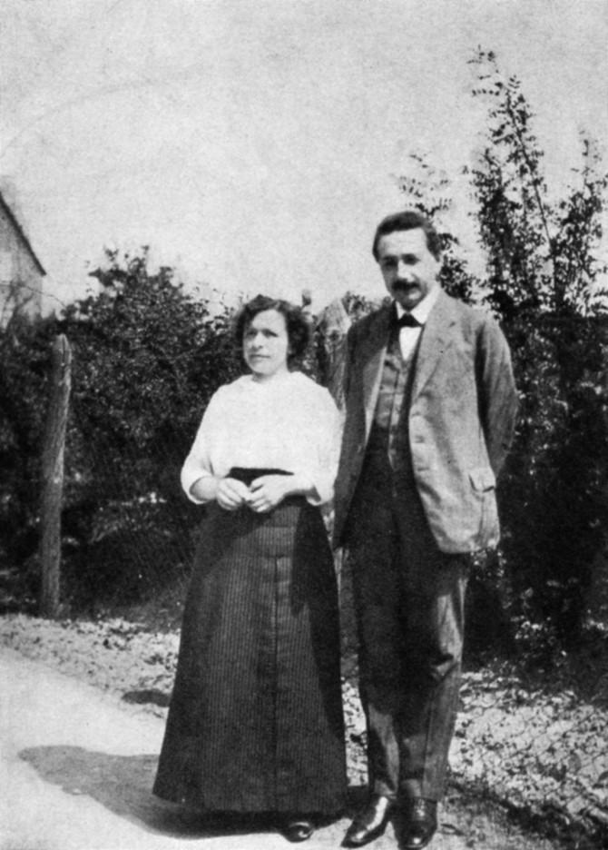 Albert i Mileva Ajnštajn