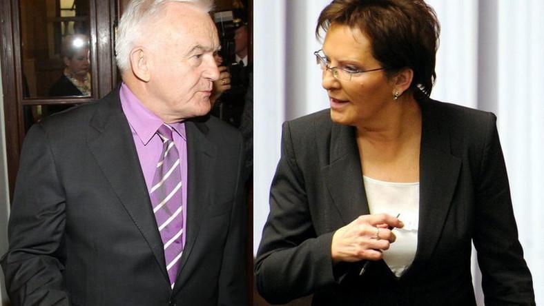 Leszek Miller komplementuje Ewę Kopacz