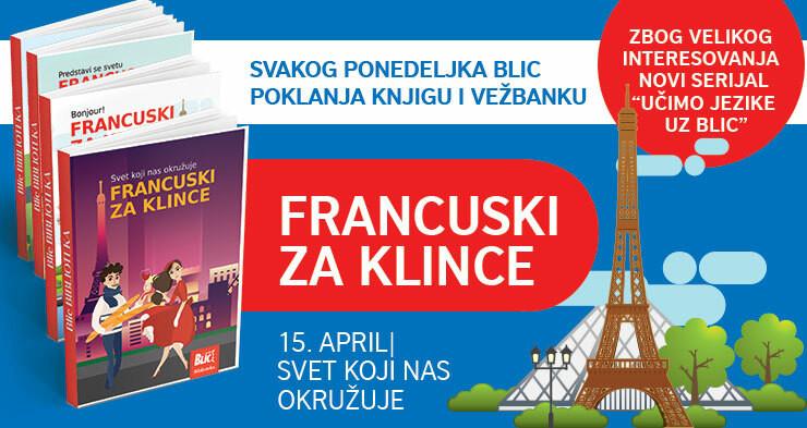 Francuski za klince na poklon uz Blic