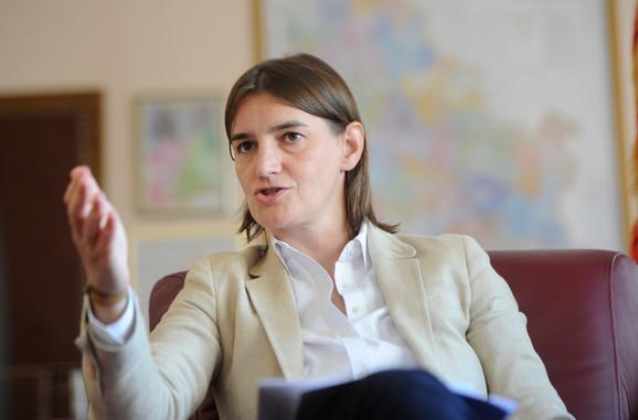 Na čelu ministarskog saveta za IT: Ana Brnabić