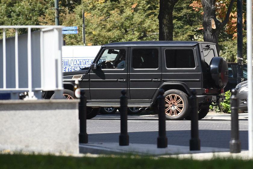 Nowy samochód Mariny Łuczenko