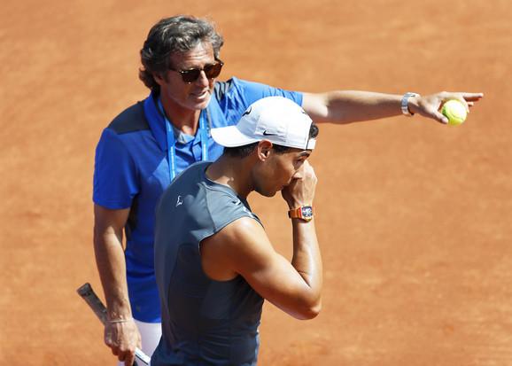 Fransisko Rođ i Rafael Nadal