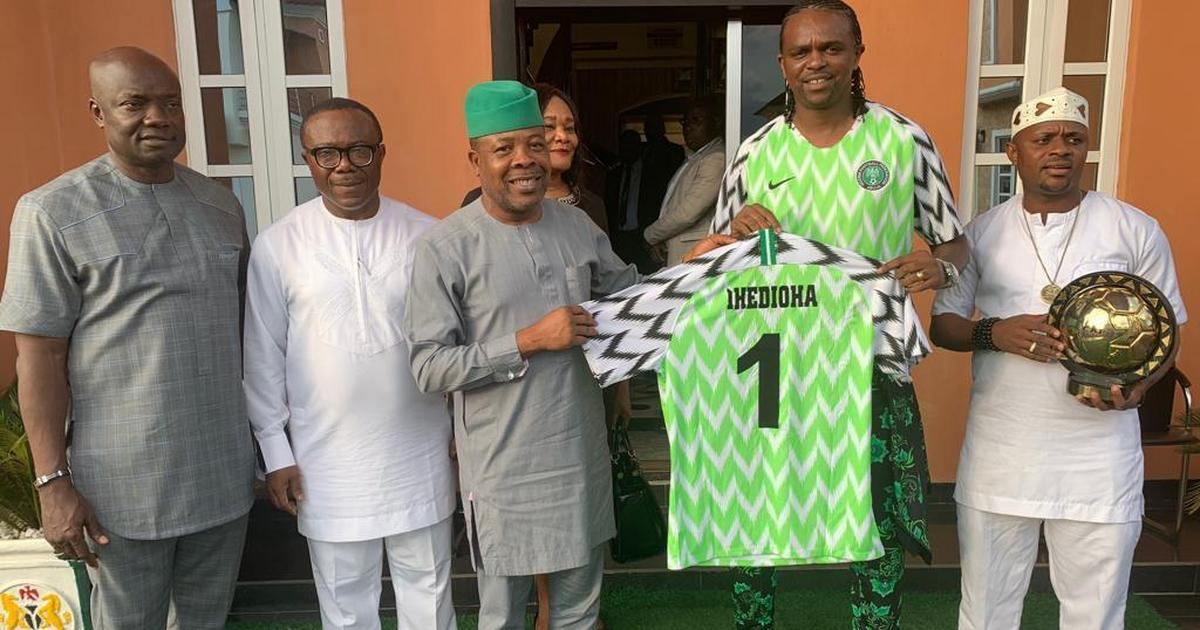 Super Eagles legend Kanu Nwankwo gets Special Assistant role to Imo State Governor - Pulse Nigeria