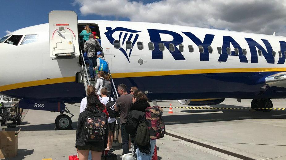 Ryanair na lotnisku Poznań-Ławica fot. Codzienny Poznań
