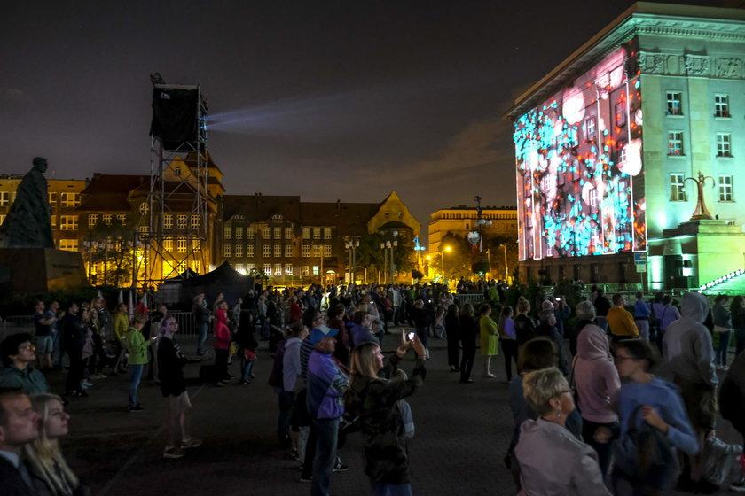 Mapping 3D związany z rocznicą wybuchu Powstań Śląskich