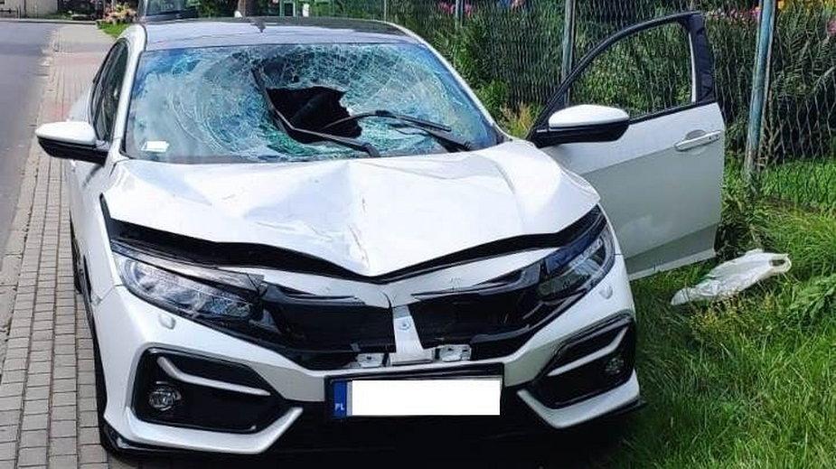Wypadek w Olkuszu