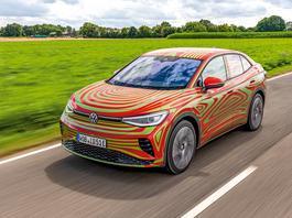 Volkswagen ID.5 – designerski SUV pod prądem