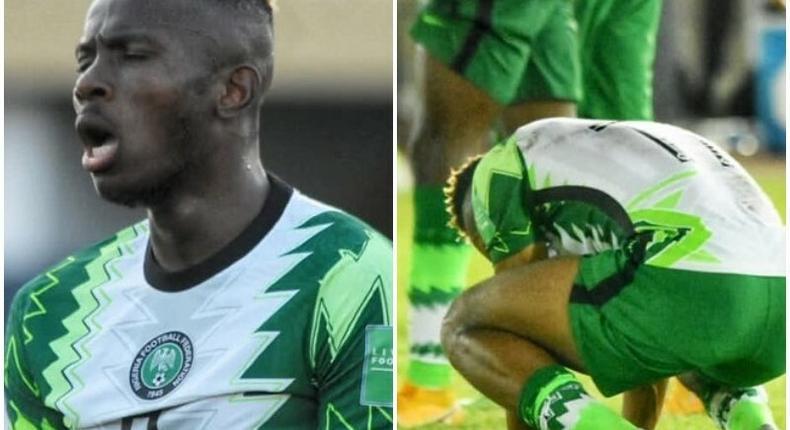 Super Eagles of Nigeria lose to CAR (Instagram/Super Eagles)