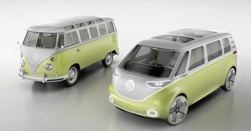 Volkswagen pokazał w tym roku wypakowaną technologią wersję swojego klasycznego busa