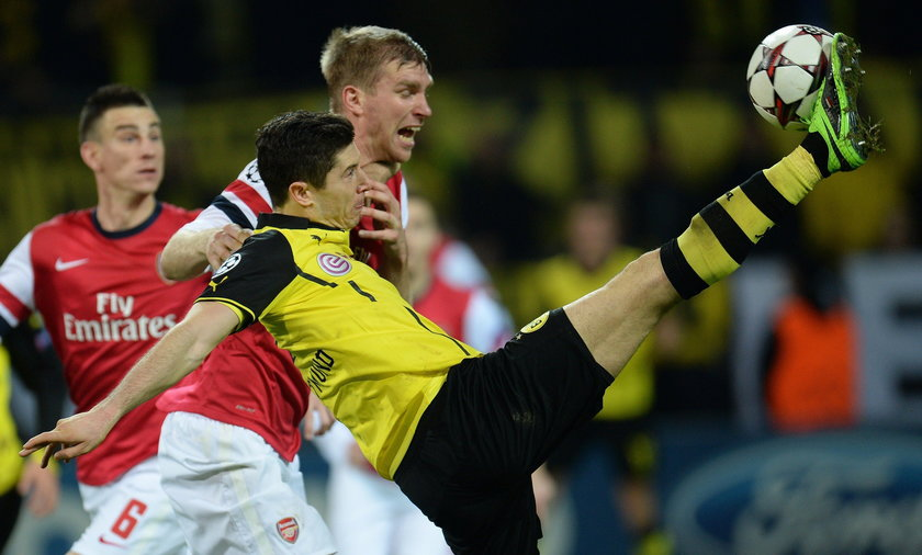 Borussia Dortmund Arsenal London 0:1 Champions League