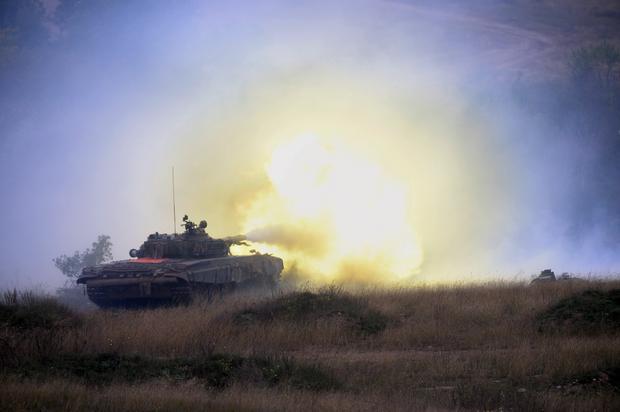 T-72 jest małym celem, stworzonym do ataku