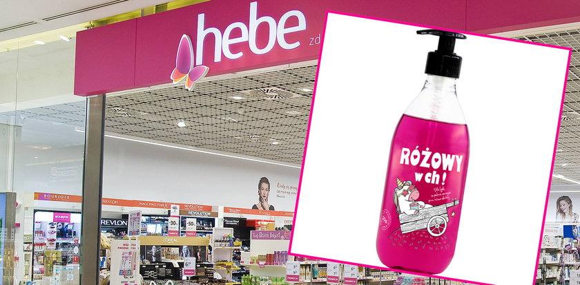 """Popularna drogeria sprzedaje żel pod prysznic. """"Różowy w ch**"""" i """"pachnie jak ja pier***"""""""