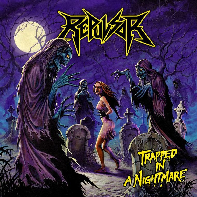 """Repulsor – """"Trapped In A Nightmare"""""""