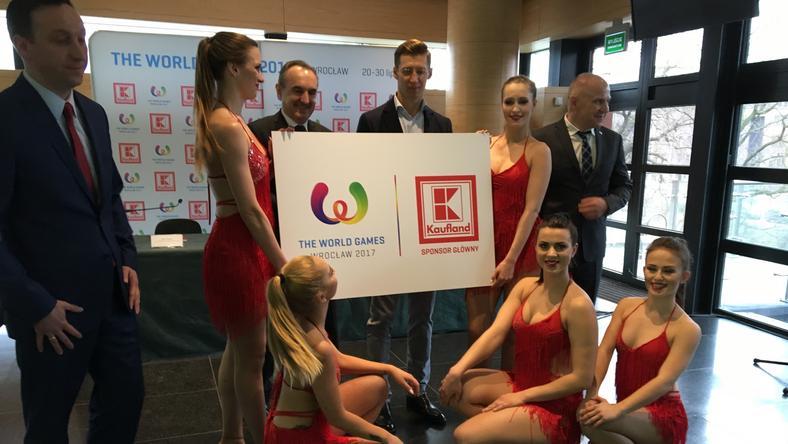 Kaufland został sponsorem głównym igrzysk The World Games Wrocław 2017