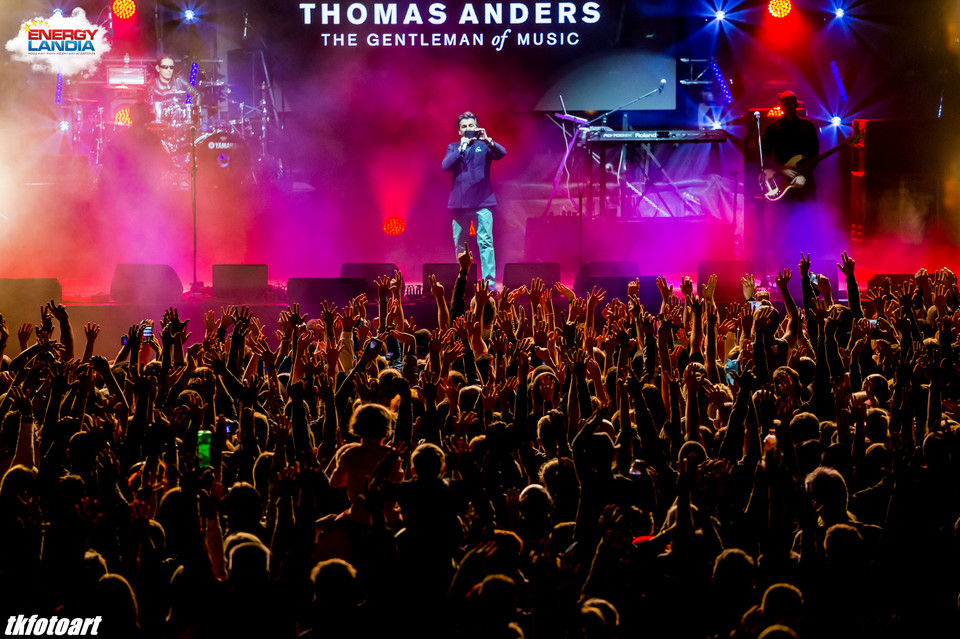 Thomas Anders i Modern Talking Band w Energylandii