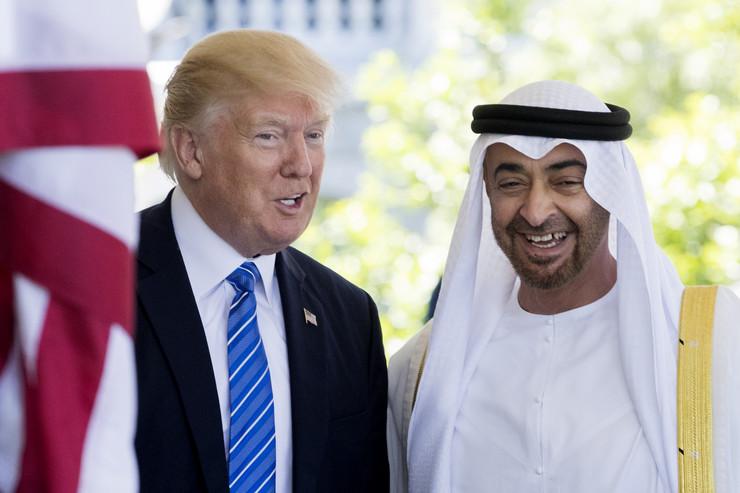 Donald Tramp, Mohamed bin Zajed