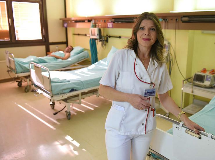 Kragujevacv_KC Kragujevac_Snezana Ristic Ivanovic medicinska sestra setra_251018_RAS foto Nebojsa Raus_01