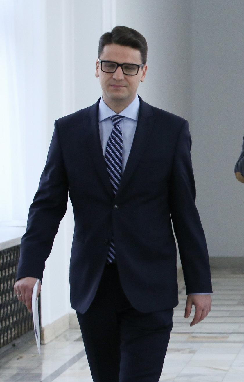 Mariusz Antoni Kamiński, były posełPiS i jeden z bohaterów tzw. afery madryckiej