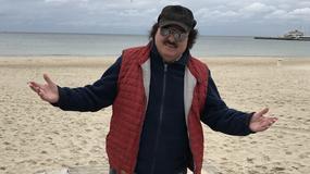 Krzysztof Krawczyk w świetnej formie na plaży!