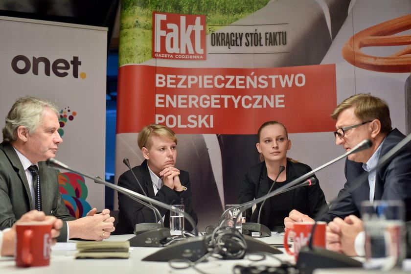 """""""Okrągły stół Faktu. Bezpieczeństwo energetyczne Polski"""""""