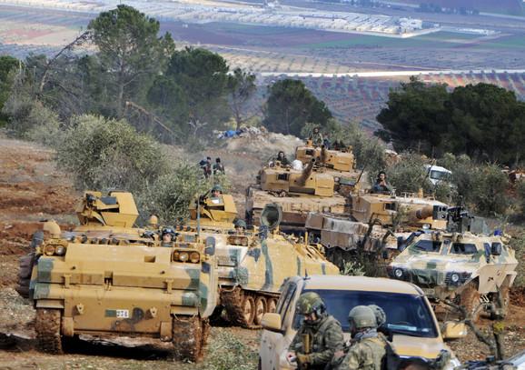 Turske snage u Siriji