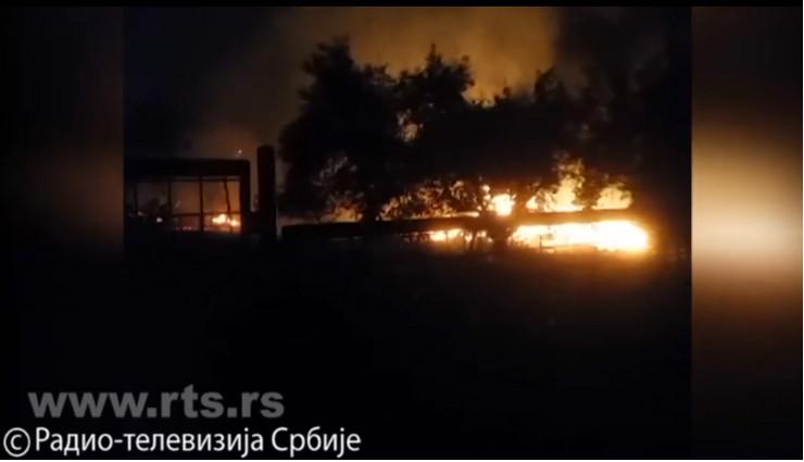Požar, Rabenovac