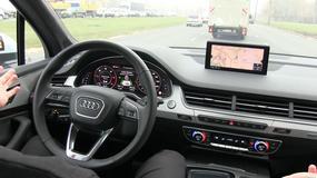 Audi Q7 potrafi (prawie) samodzielnie jechać w korku i autostradą