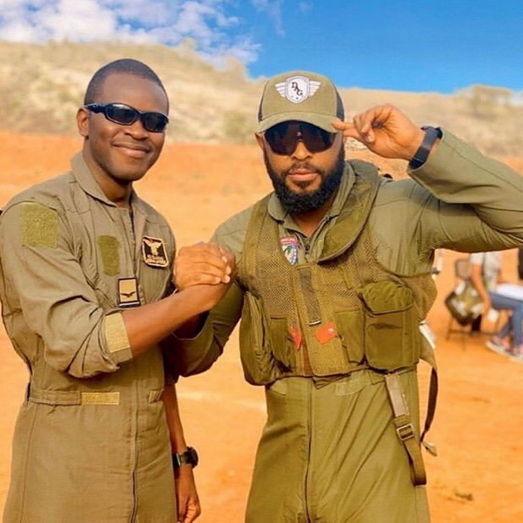 Enyinna Nwigwe plays Wing Commander Nura in the upcoming war film based on true events